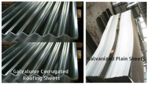 Galvalume Corrugated Roofing Sheets in Assam